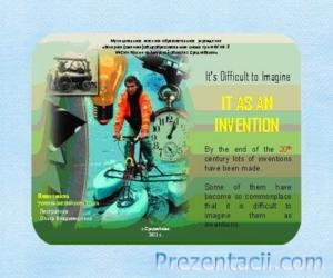 It as an Invention