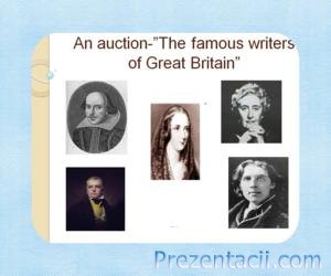 The famous writers of Great Britain