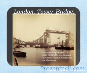 London. Tower Bridge
