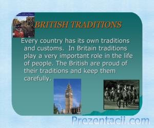 British traditions (Традиции Британии)
