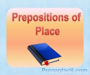 Prepositions of Place (Предлоги места)