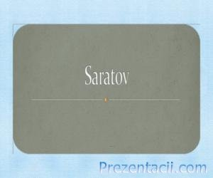 �� �������� � ������� (From Saratov with love)