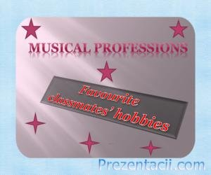 Профессии в музыке (Musical professions)