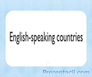 English-speaking countries (�������������� ������)