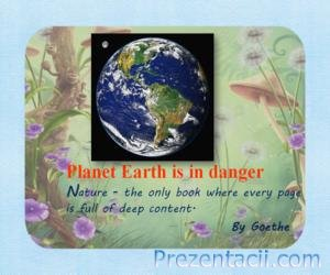 Planet Earth is in danger (������� ����� � ���������)