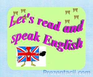 Let's read and speak English