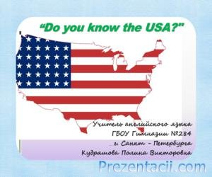 Do you know the USA